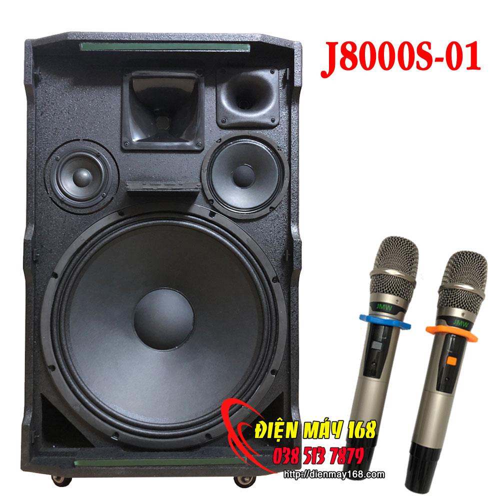 Jmw j8000s01 Loa kéo bass 5 tấc thùng gỗ năm 2021