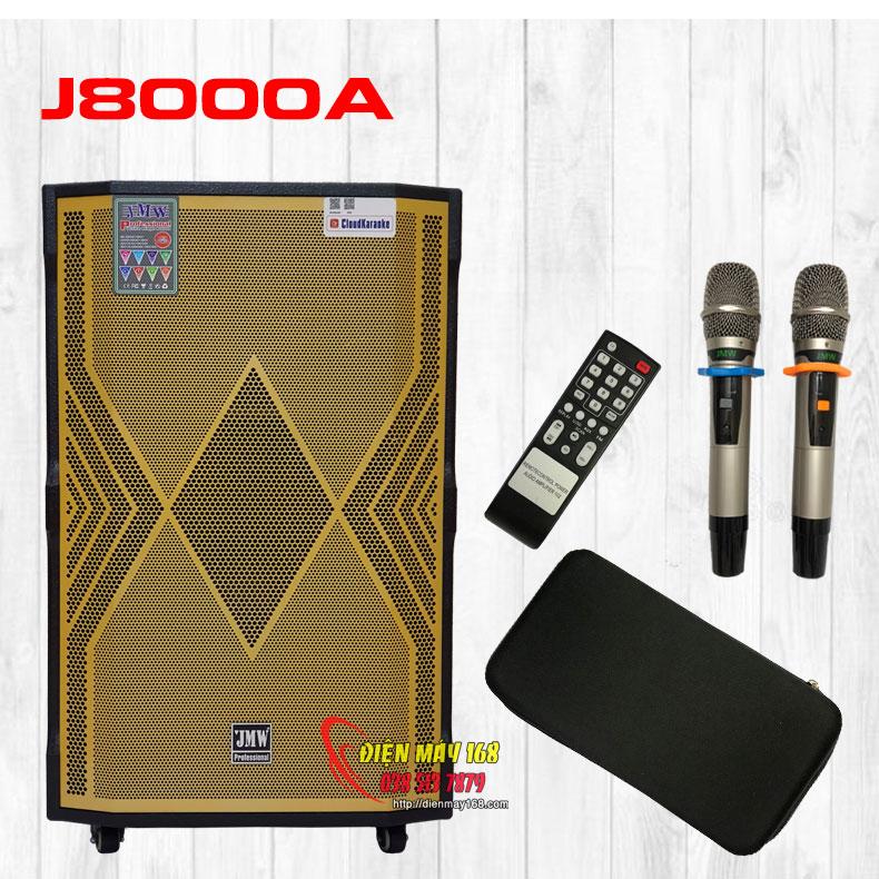 Loa kéo công suất lớn hát hay nhất hiện nay JMW J8000A