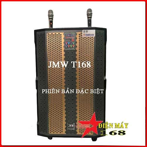 Loa kéo di động jmw T168 Bass 5 Tấc Thùng Gỗ Năm 2020