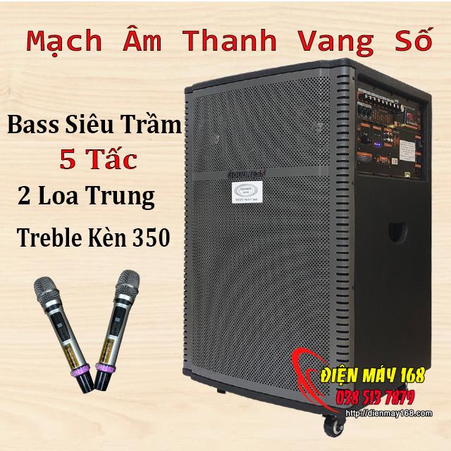 Loa kéo  Goudness 3939 Reverb âm thanh vang số dsp controler công suất lớn