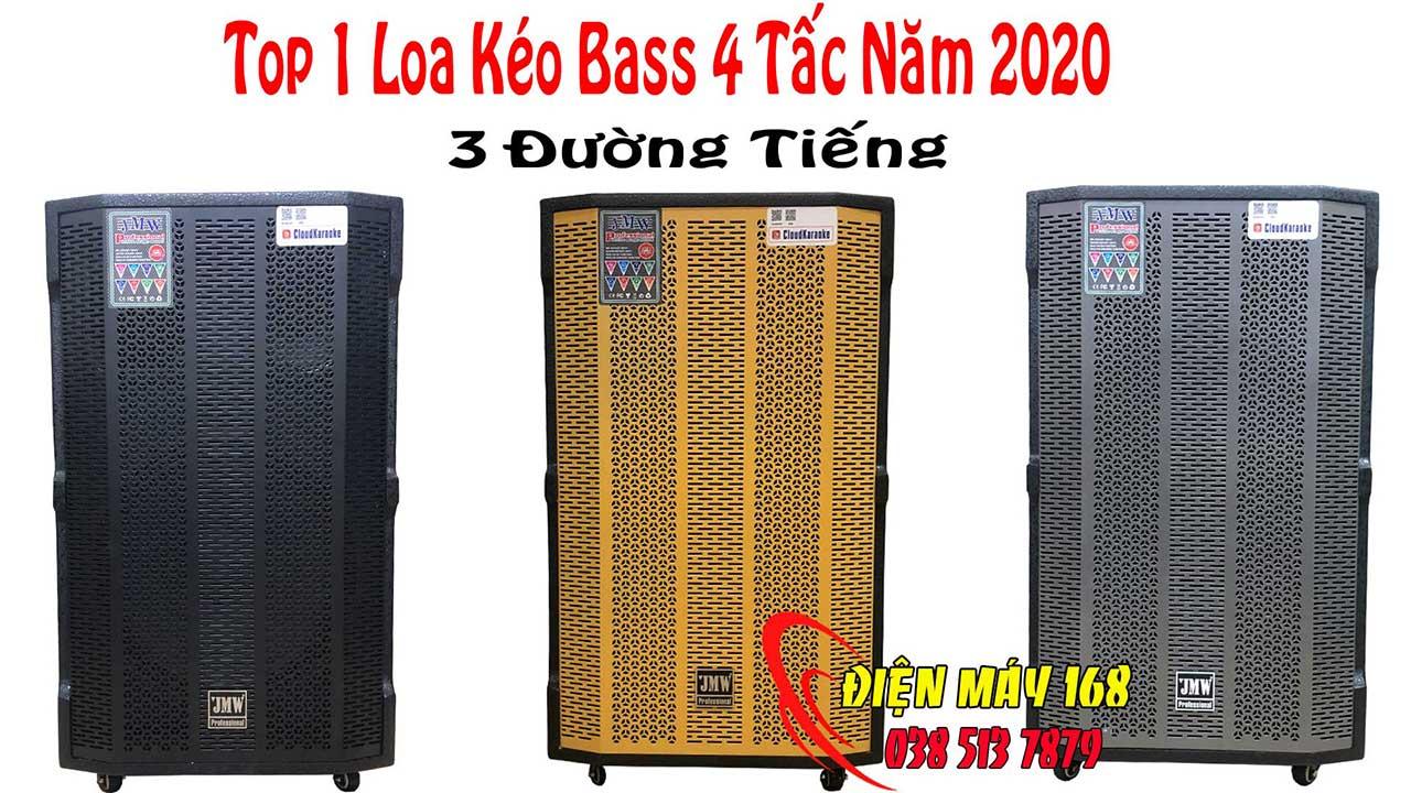 Loa kéo JMW 15s Bass 4 Tấc Thùng Gỗ Tặng 2 Micro UHF - Bấm xem ngày