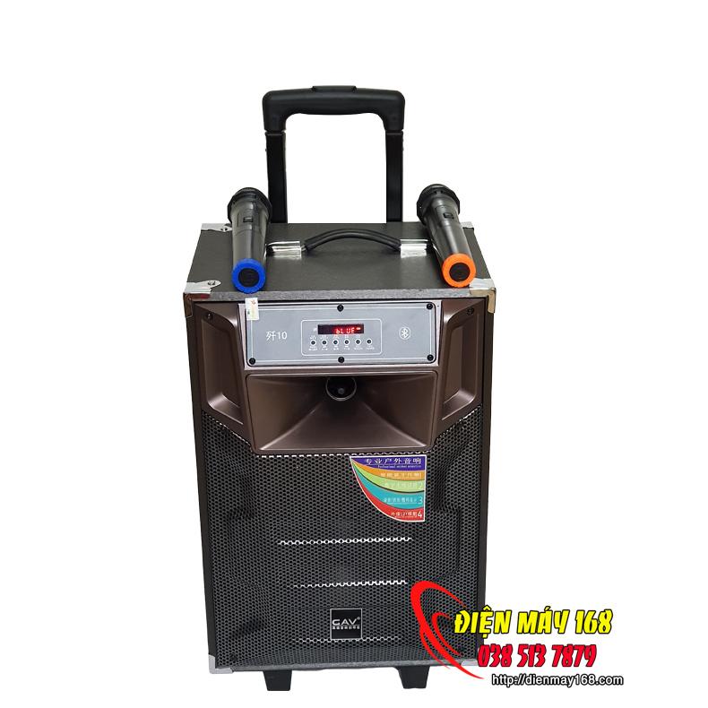 Loa kéo karaoke bluetooth GAV k3-10 bass 25cm
