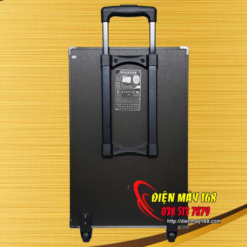 Loa kéo karaoke bluetooth GAV k3-12 bass 30cm