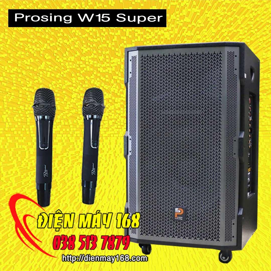 Loa kéo prosing w15 super bass 40 chính hãng