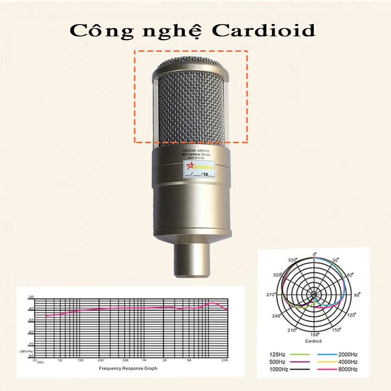 Mic thu âm chuyên nghiệp takstar pc k200