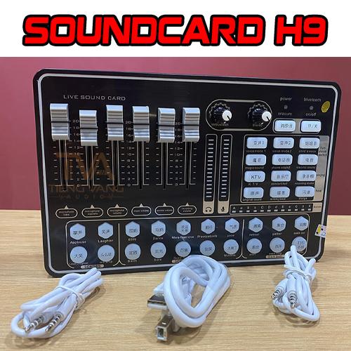 Mic Thu âm Livestream BM900 - Soundcard H9 Trọn Bộ Giá rẻ - Mùa Covid