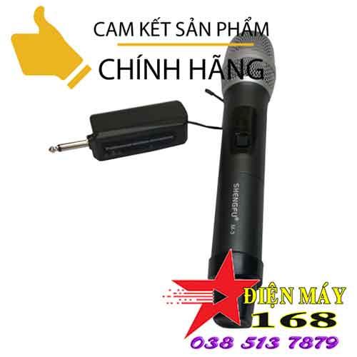 Micro không dây loa kéo m3 giá rẻ dienmay168