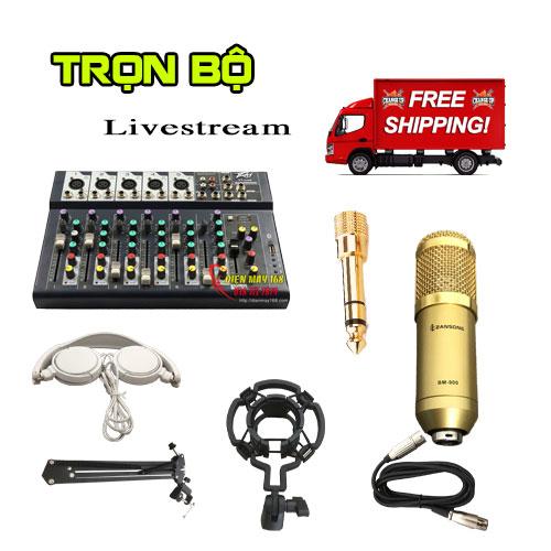 Mixer f7 hát karaoke livestream Trọn bộ hát hay giá rẻ nhất