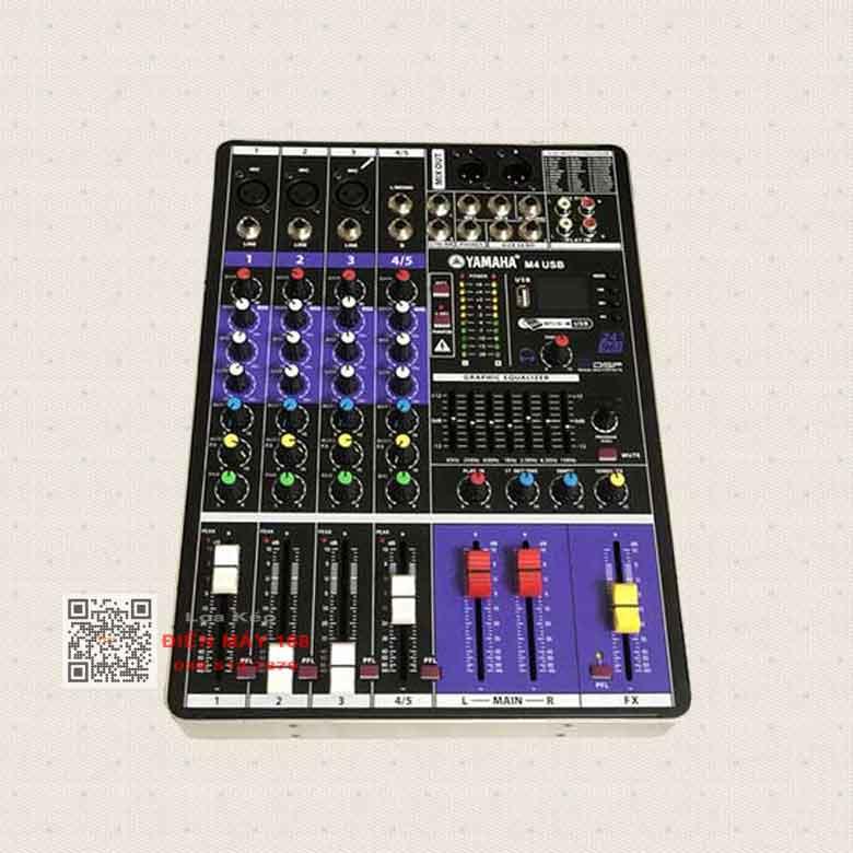 Mixer yamaha m4 99 hiệu ứng năm 2021 giá bao nhiêu?