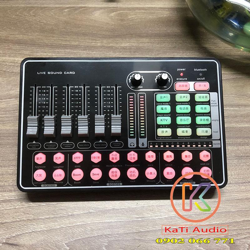Soundcard h9 bluetooth giá bao nhiêu ?   Kati Audio