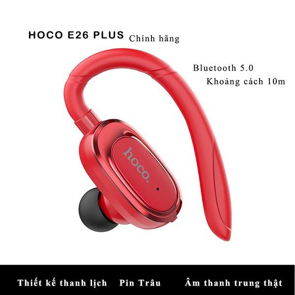 Tai nghe không dây Bluetooth Hoco E26 Plus Chính Hãng