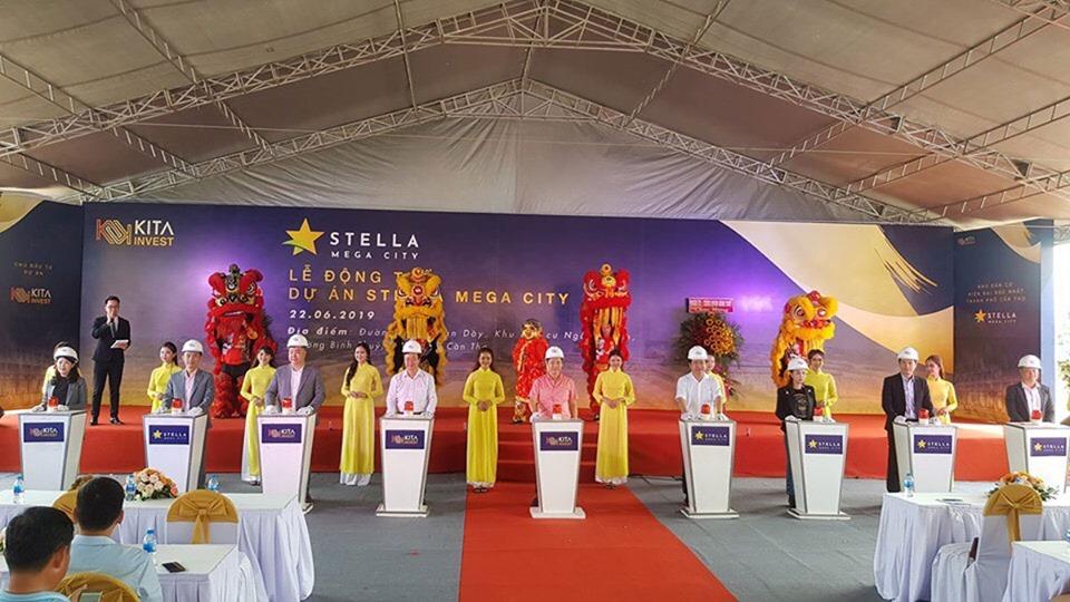 Lễ động thổ dự án Stella Mega City