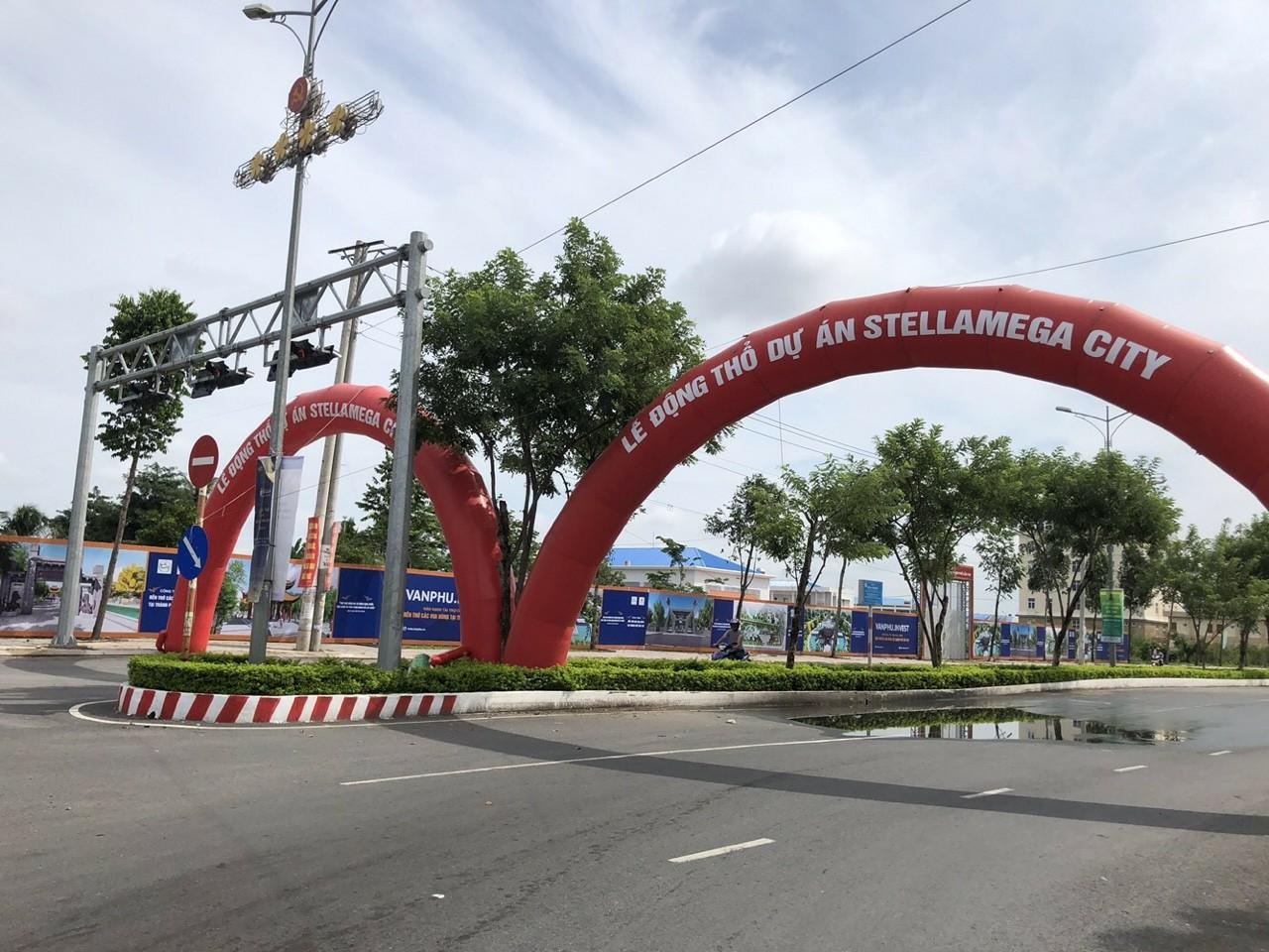Hạ tầng thực tế Dự án Stella Mega City