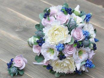 Những mẫu hoa cưới đất sét đẹp nhất năm