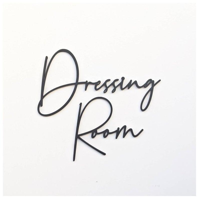 Sắt mỹ thuật Laser CNC trang trí ốp tường Dressing room