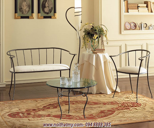 Iron furniture art DA14-BG29