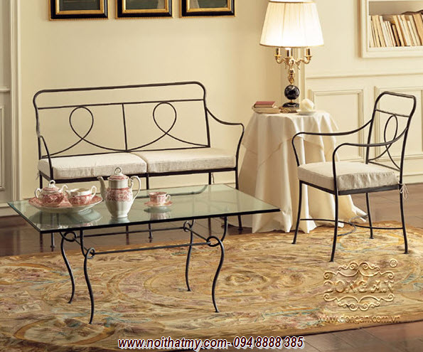 Iron furniture art DA14-BG30