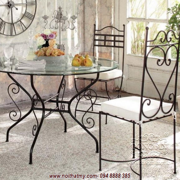 Beautiful iron furniture DA14-BG37