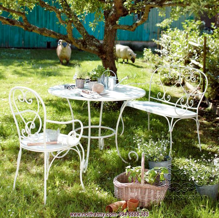 Bàn ghế sân vườn DA14-BG45