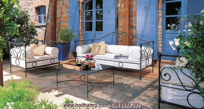 Beautiful iron furniture for the patio DA14-BG50