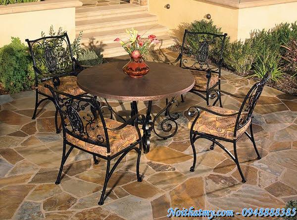 40 Wrought Iron Furniture Outdoor Italian Style part 1