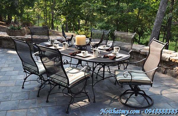 40 Wrought Iron Furniture Outdoor Italian Style (part 2