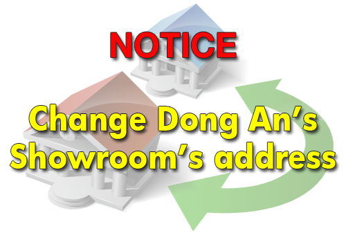 Notice - change the address