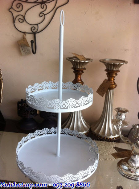 Wrought iron CNC cupcake shelve DA15-KB04