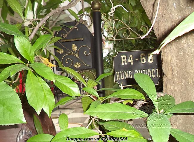 Thùng thư đứng cho biệt thự DA13-HT16
