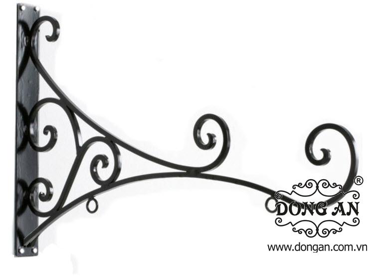 Móc treo hoa đẹp sắt mỹ thuật DA13-GT07