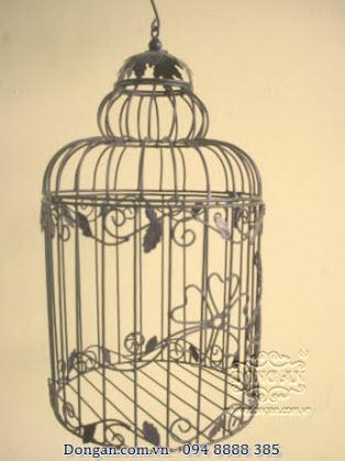 Lồng chim trang trí bằng sắt đẹp DA13-LC27