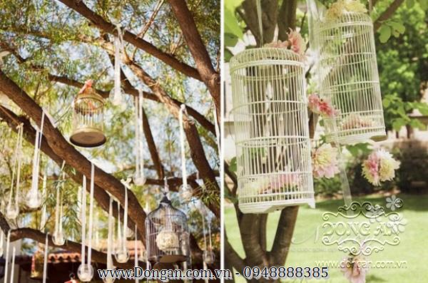 Lồng chim sắt mỹ thuật đẹp DA13-LC13
