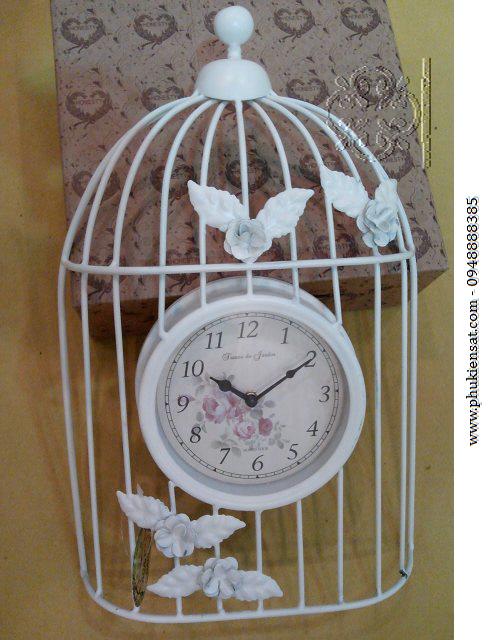 Đồng hồ trang trí sắt mỹ thuật Đông Ấn DAD-07