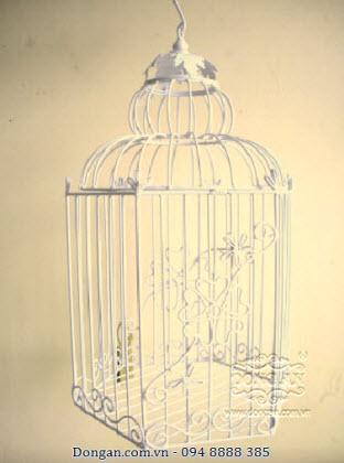 Lồng chim trang trí bằng sắt đẹp DA13-LC28