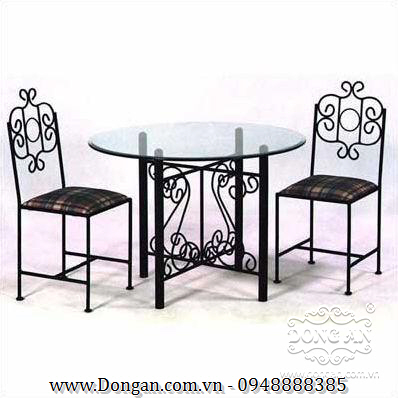The tables and chairs for cafes DA13-BG34
