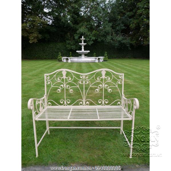 Benches garden iron art