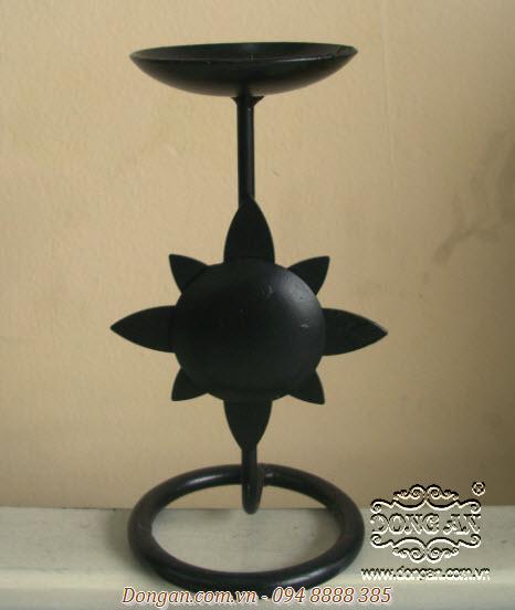 Chân nến trang trí bằng sắt uốn DA13-CN06