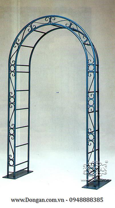 cổng chào sắt nghệ thuật DA10-045 ARCH