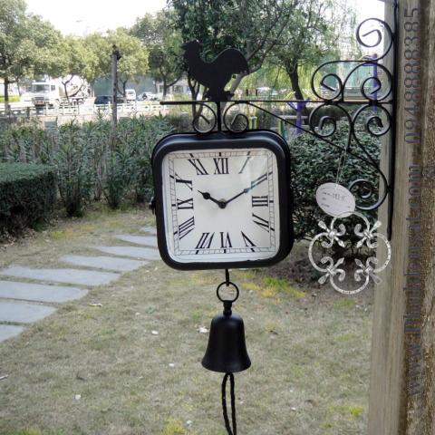 Đồng hồ sắt uốn trang trí Đông Ấn DAD-02