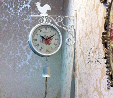 Đồng hồ treo tường sắt uốn nghệ thuật DAD-04