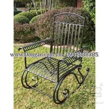 Art iron garden chairs