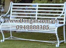 Ghế sân vườn đẹp sắt nghệ thuật DAG-09