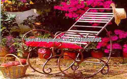 Art iron garden chairs DAG-11