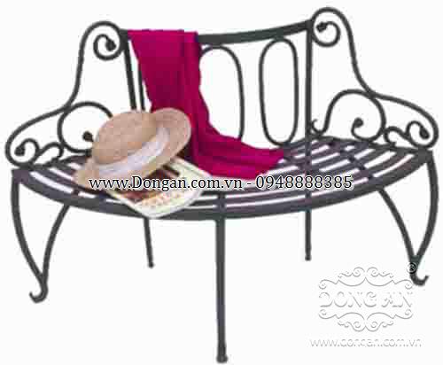 Ghế sân vườn đẹp sắt nghệ thuật DAG-17