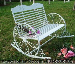 Art iron garden chairs DAG-19