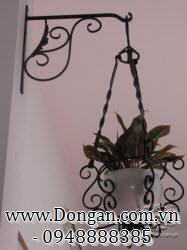 Móc treo hoa đẹp sắt mỹ thuật DA13-GT20