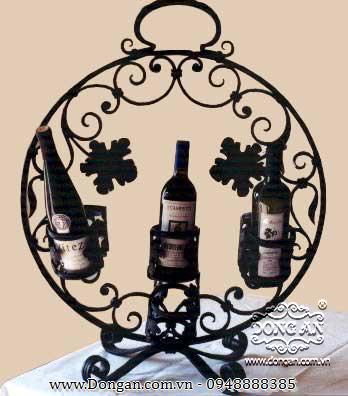Kệ rượu hình cầu độc đáo DA13-KR72