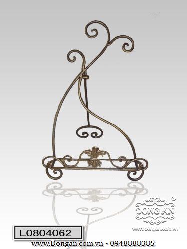 Kệ sách đơn bằng sắt nghệ thuật DA13-KS16