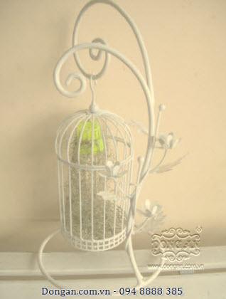 Lồng chim trang trí bằng sắt đẹp DA13-LC26