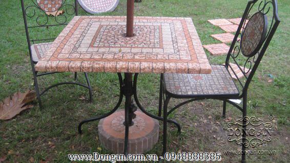 Mặt bàn đá mosaic DA13-MO11